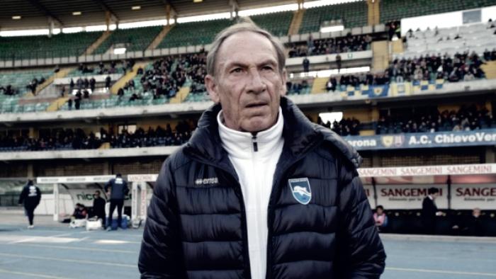 """Pescara, Zeman in vista dell'Atalanta: """"Dovremmo avere più motivazioni di loro"""""""
