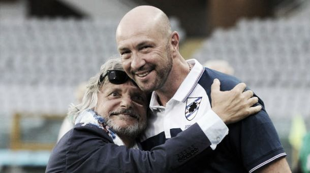 Sampdoria - Zenga, stavolta sembra davvero finita