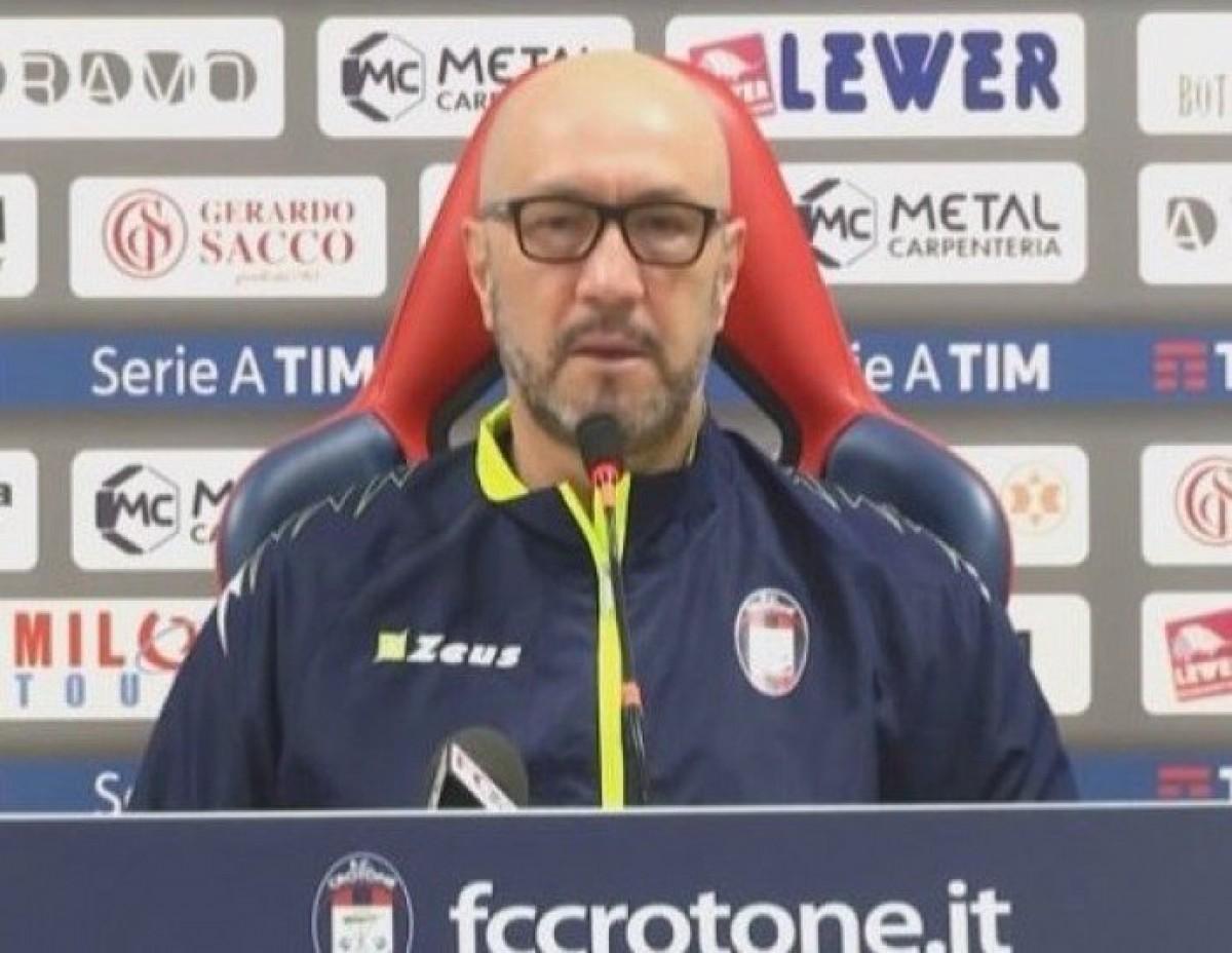 """Crotone - Zenga crede nella salvezza: """"Abbiamo dimostrato di meritare la Serie A"""""""