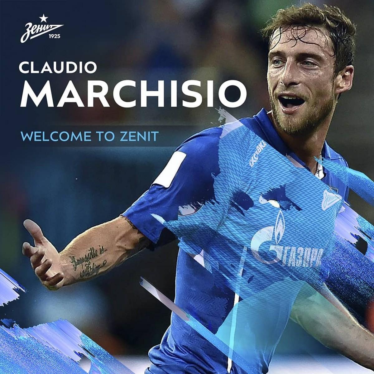 Zenit San Pietroburgo, ecco la nuova squadra di Marchisio