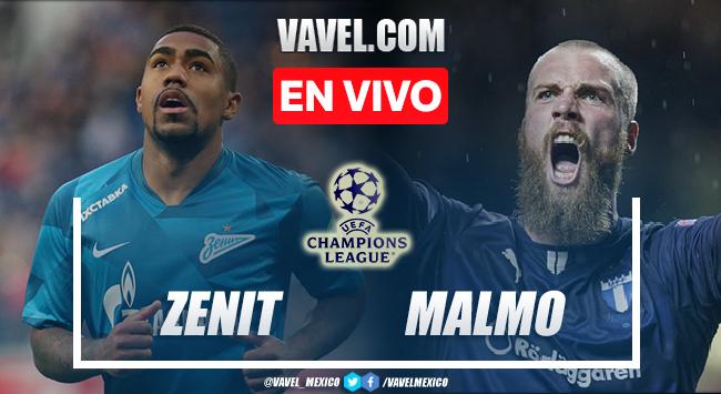 Goles y resumen del Zenit 4-0 Malmo en UEFA Champions League 2021