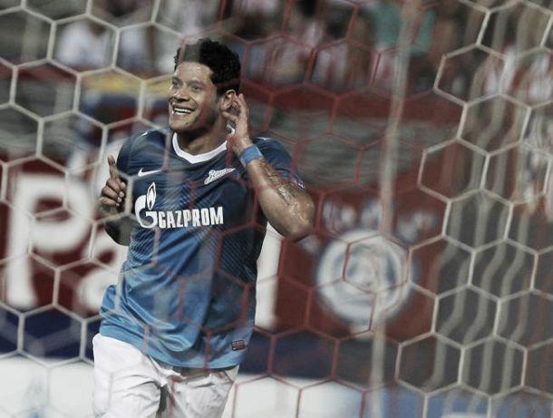 Zenit x CSKA: Bis de Hulk aproxima os 'Zenitchiki' do título russo