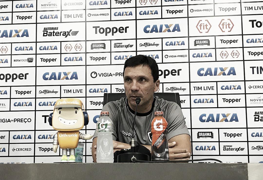 """Zé Ricardo avalia momento ruim do Botafogo: """"Nada é para sempre"""""""