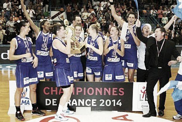 Lattes-Montpellier, championnes de France LFB 2014