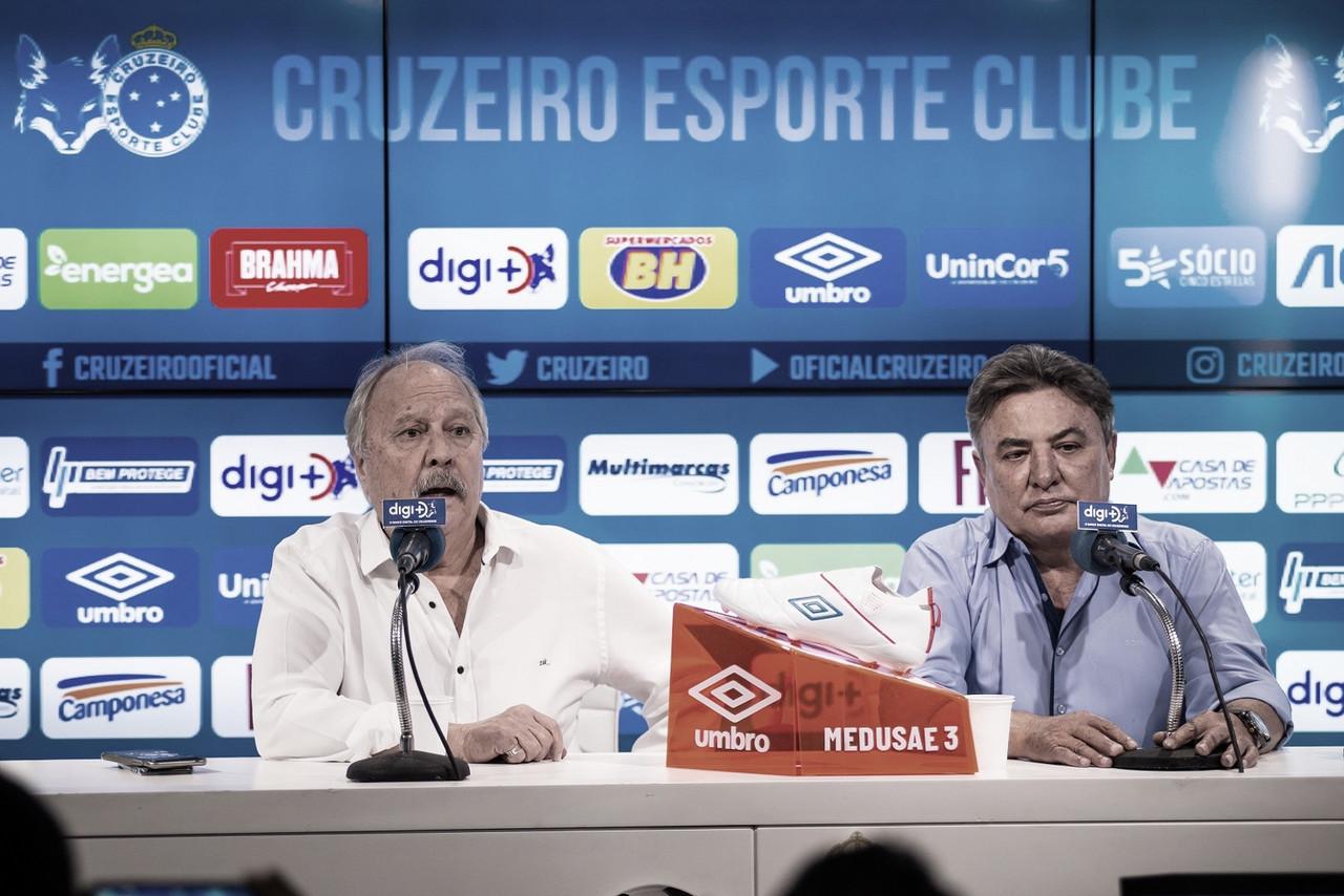 Zezé Perrella declara paixão ao Cruzeiro e realça situaçãogravíssima do clube