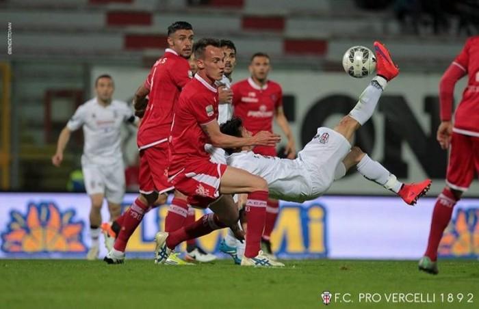 Serie B, la Pro Vercelli vede la salvezza: 1-2 a Perugia