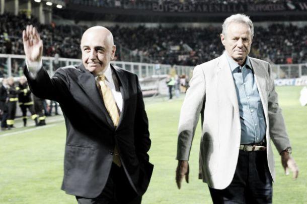 """Zamparini: """"Galliani ha fatto solo gli interessi del Milan"""""""