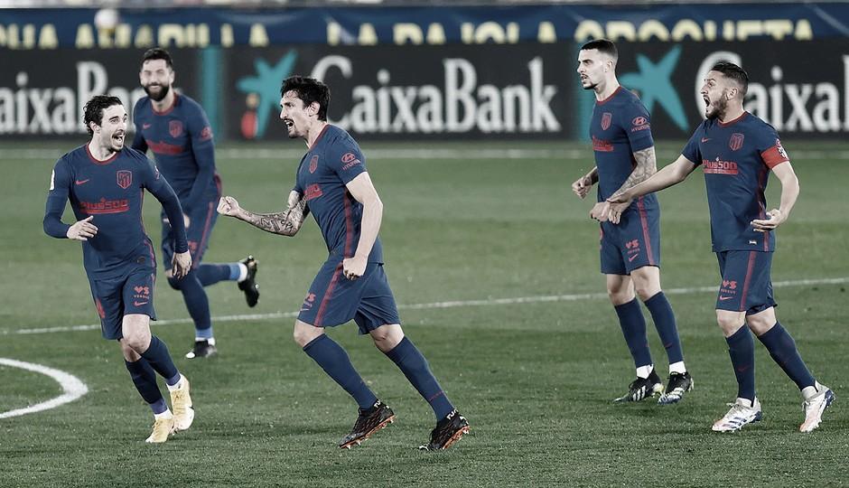 El Atlético vuelve a la senda