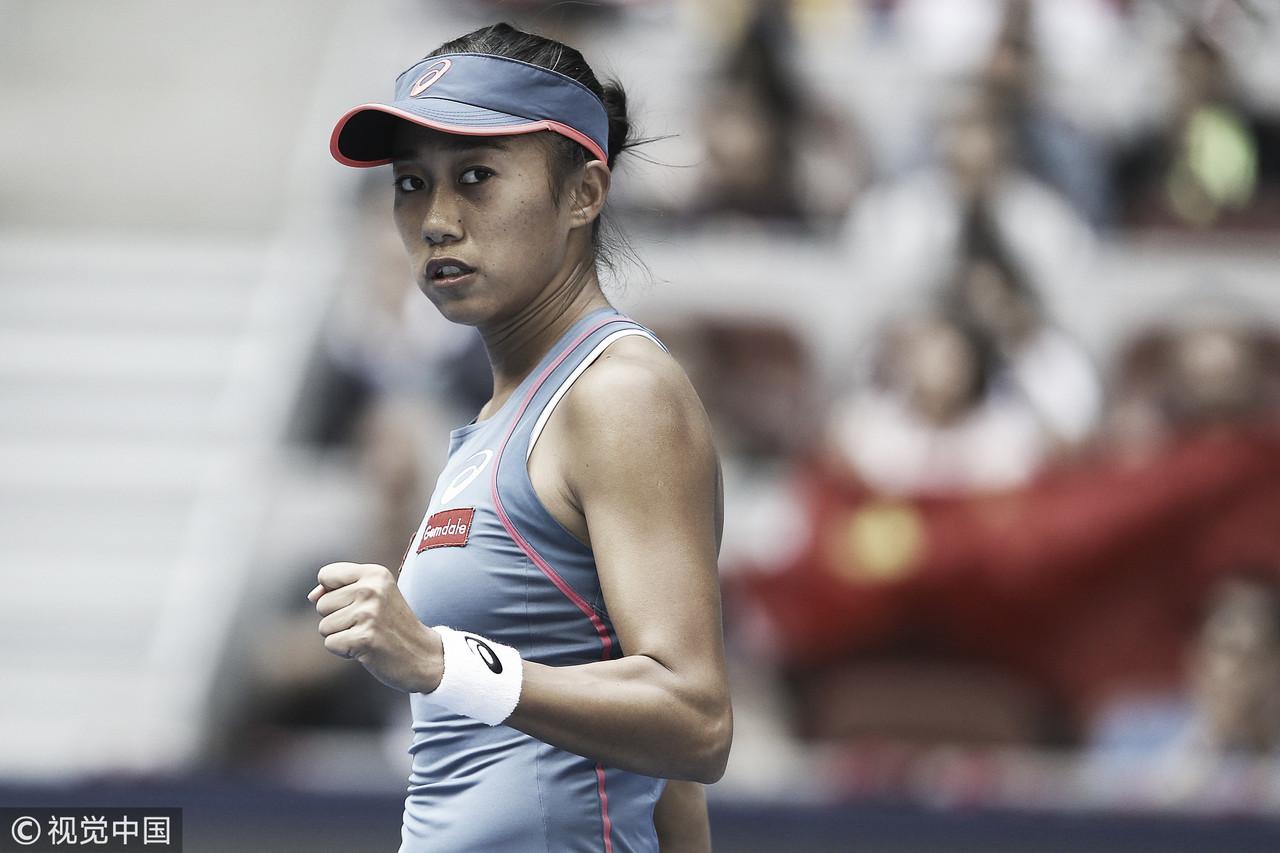 Zhang aplica pneu em Kerber e avança às quartas na China