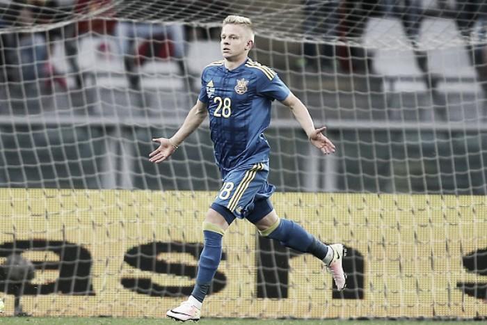 Promessa ucraniana, meia Oleksandr Zinchenko é contratado pelo Manchester City
