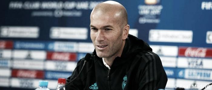 """Zidane: """"Solo pensamos en ganar el Mundialito"""""""