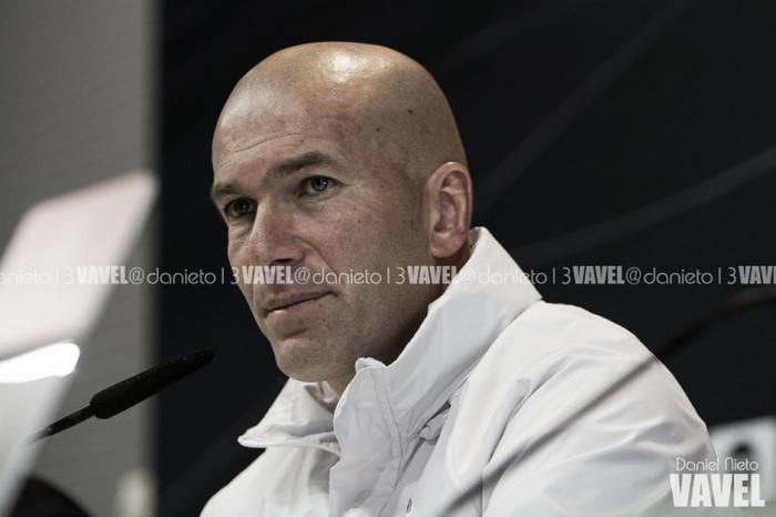 """Zidane: """"¿Puedes sacar el dato de todo lo que han ganado estos jugadores?"""""""