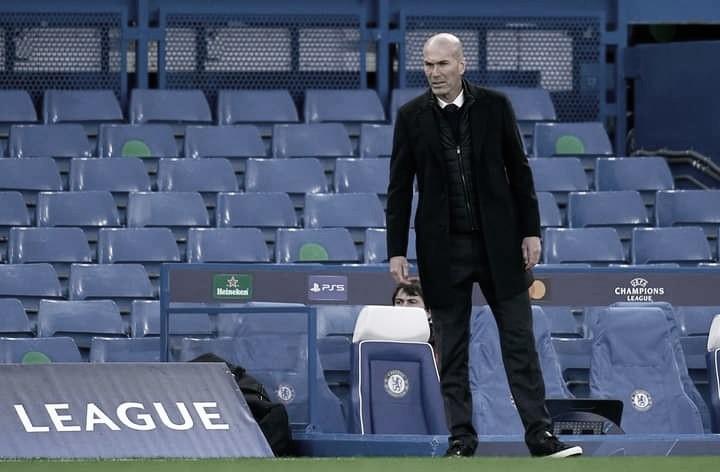 Zidane elogia Chelsea e acredita no Real Madrid bicampeão de LaLiga