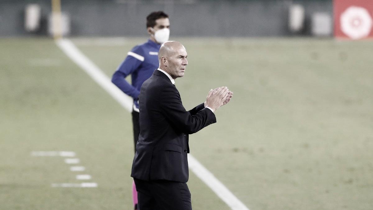 """Zidane analisa primeira vitória do Real Madrid em LaLiga: """"Três pontos muito importantes"""""""