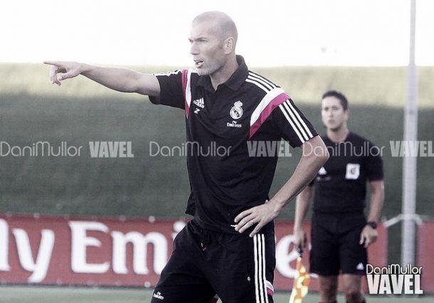 """Zinedine Zidane: """"La segunda parte ha sido más complicada"""""""