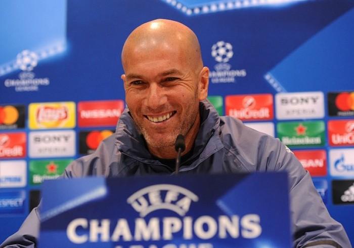 """Real Madrid, Zidane: """"Mi aspetto un Napoli arrembante ed un San Paolo rovente, ma non sono preoccupato"""""""
