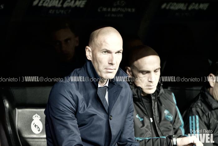 """Zidane: """"Estoy tranquilo, veo bien al equipo"""""""