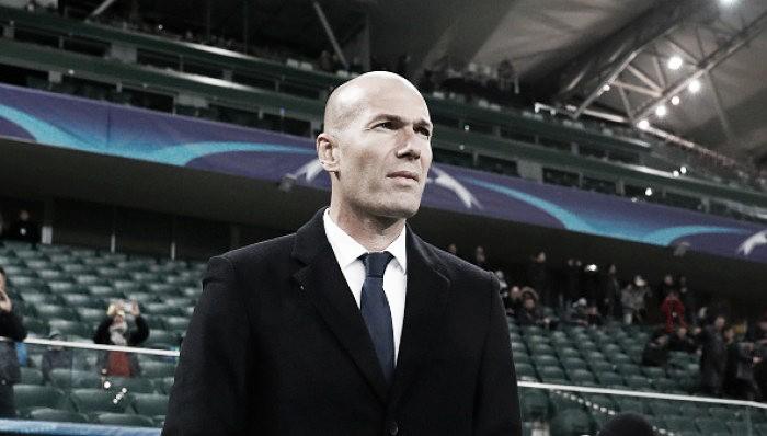 Zidane assume responsabilidade após empate do Real Madrid diante do Legia Varsóvia