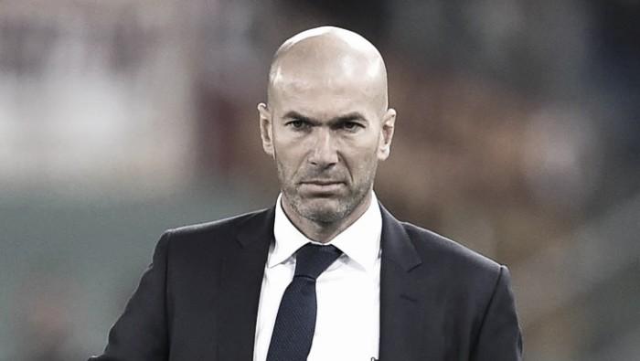"""Zidane: """"Siamo concentrati ed è questo che mi interessa. Il Wolfsburg sa giocare a calcio"""""""
