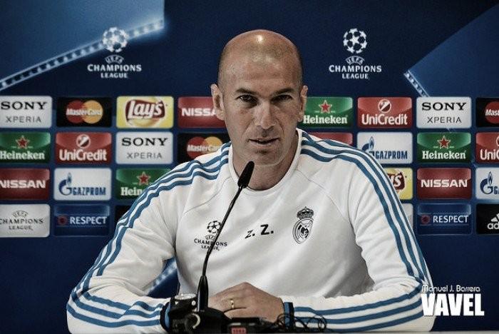 "Real, Zidane: ""Correre, correre, correre"""