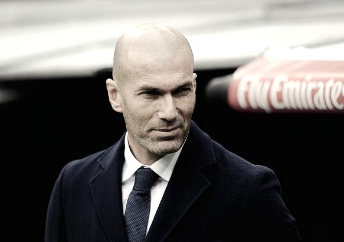 Zidane y su banquillo de lujo