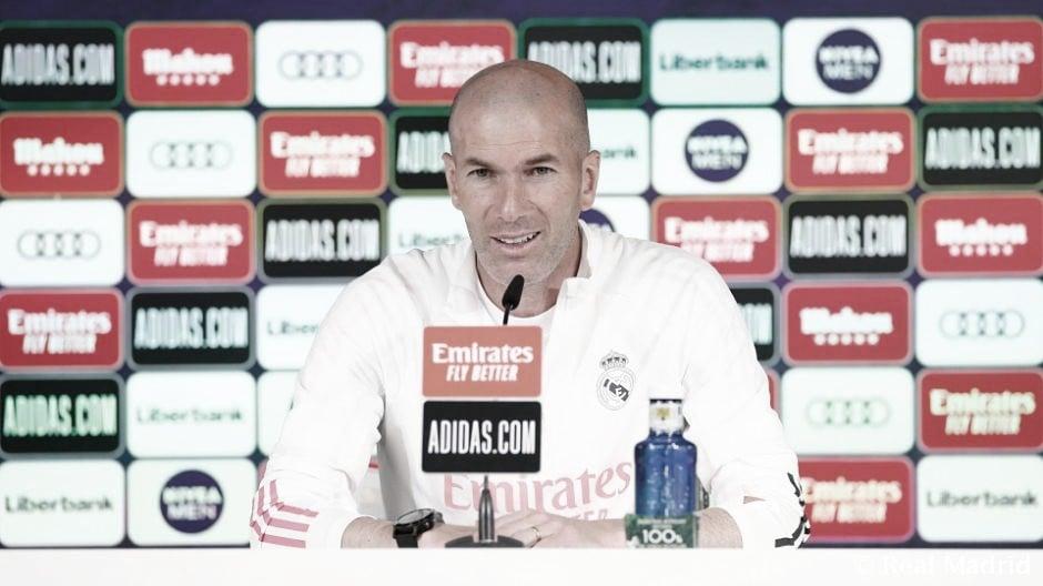 """Zidane: """"Llega un momento en el que hay que cambiar"""""""
