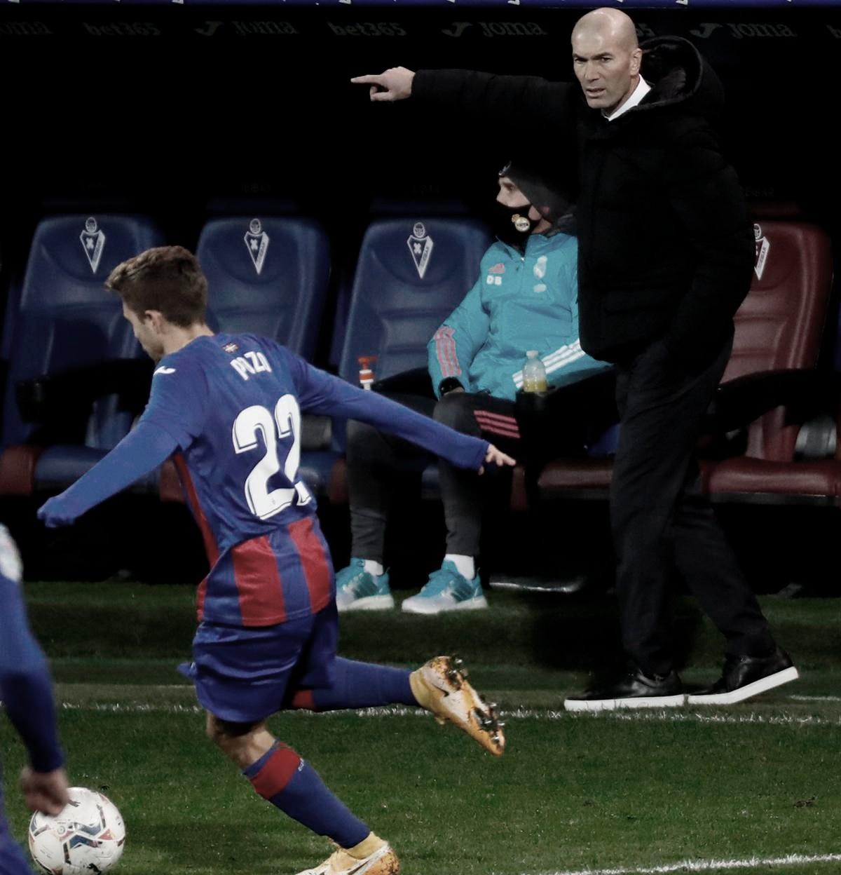 """Zidane: """"Empezamos el partido de p… madre"""""""