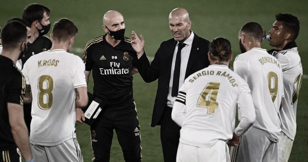 Números del Madrid para su partido de vuelta contra el City