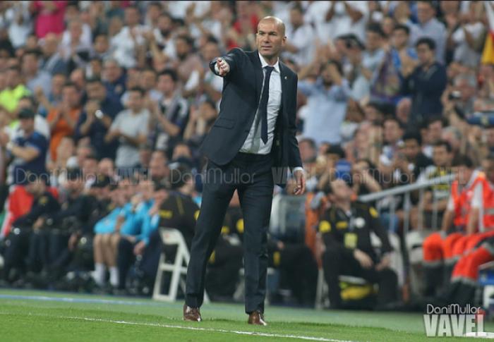"""Real Madrid, Zidane ci crede: """"Vincere e sperare"""""""