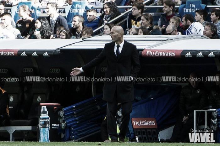 """Zidane: """"No hicimos lo que se esperaba, pero conseguimos los tres puntos"""""""