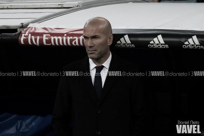 """Zidane: """"Me alegro por todos los jugadores que han podido tener minutos"""""""