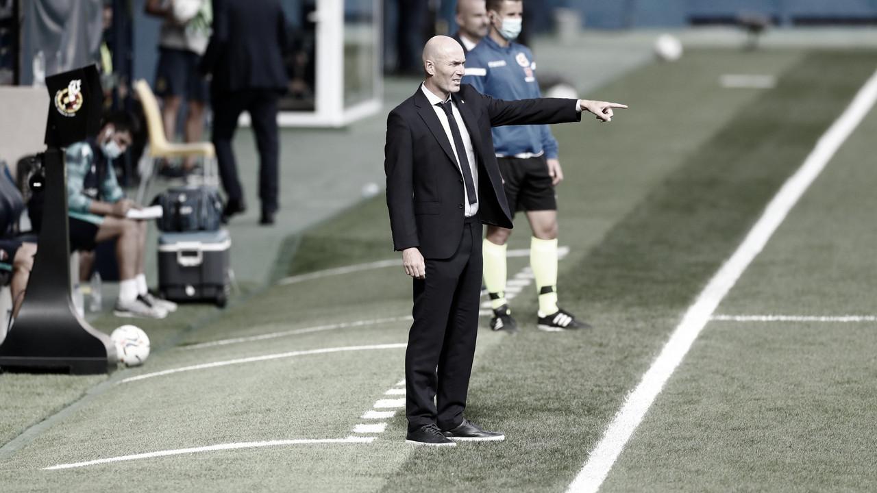 """Zidane analisa vitória do Real Madrid sobre Levante em LaLiga: """"Sofrer para vencer"""""""