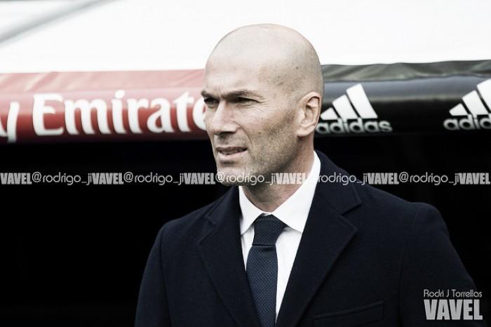 """Zidane: """" Valverde lo hizo bien, porque lo tenía que hacer"""""""