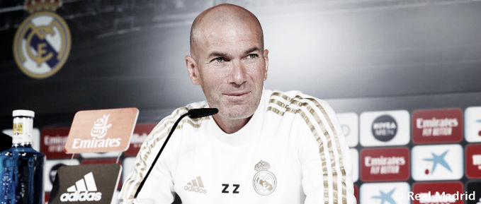 """Zinedine Zidane: """"Jugamos contra un equipo que no se merece su posición en la tabla"""""""