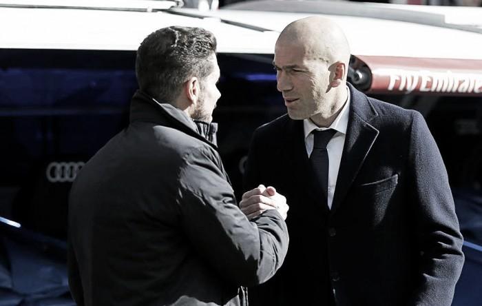 Liga, Zidane e Simeone scaldano il derby di Madrid