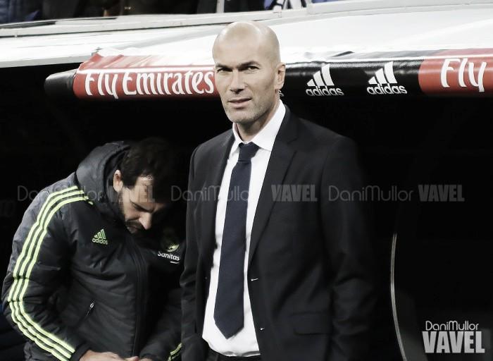 """Zidane: """"A pesar del 1-7, solo pensamos en el partido de mañana"""""""