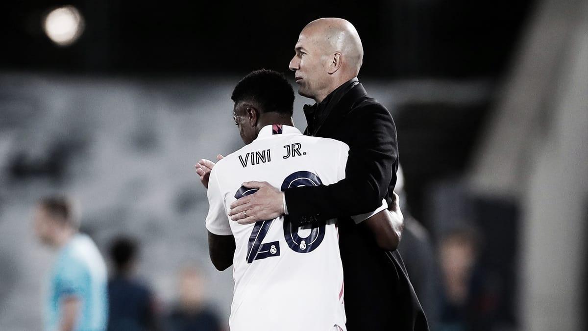 Zinedine Zidane: «Hay que estar satisfechos y contentos, pero todavía hay un partido de vuelta»