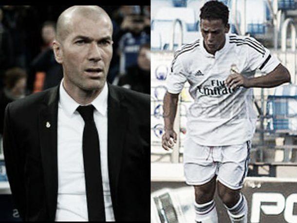 """Zidane: """"Yo hablé con Cristian Benavente para que se quedara en el Castilla"""""""