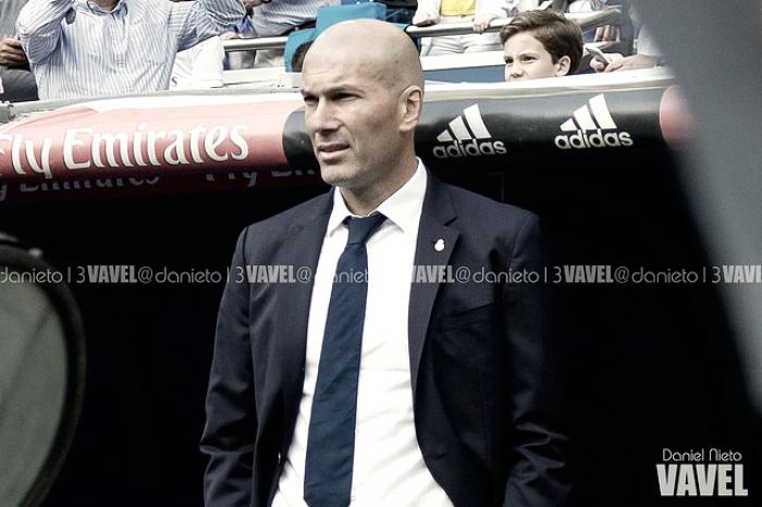 """Zidane: """" En nuestra cabeza está jugar para nada, es complicado"""""""