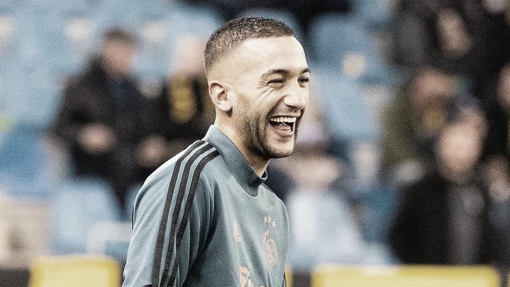 Chelsea oficializa contratação do meia-atacante Hakim Ziyech por 40 milhões de euros