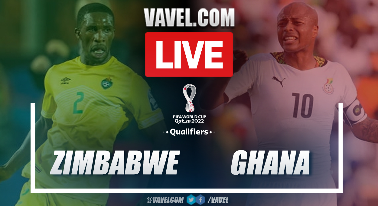 Highlights and goal: Zimbabwe 0-1 Ghana in 2022 World Cup Qualifiers