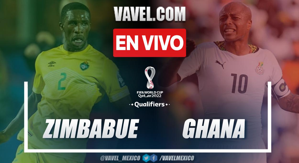 Resumen y gol: Zimbabue 0-1 Ghana en Eliminatorias a Catar 2022