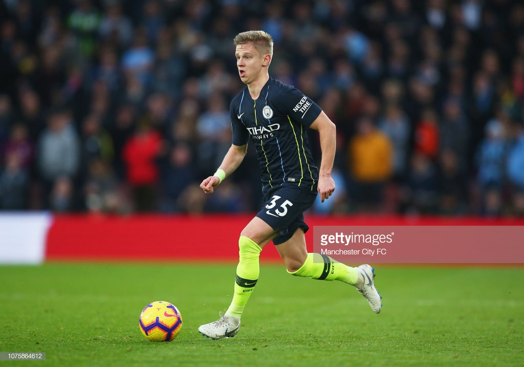 Pep Guardiola lauds Oleksandr Zinchenko as 'best player' on the pitch following Citizens victory at St Mary's