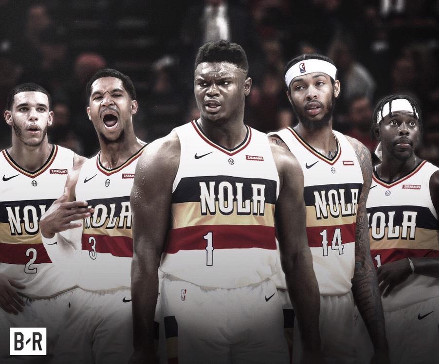 El 'nuevo-look' de los Pelicans