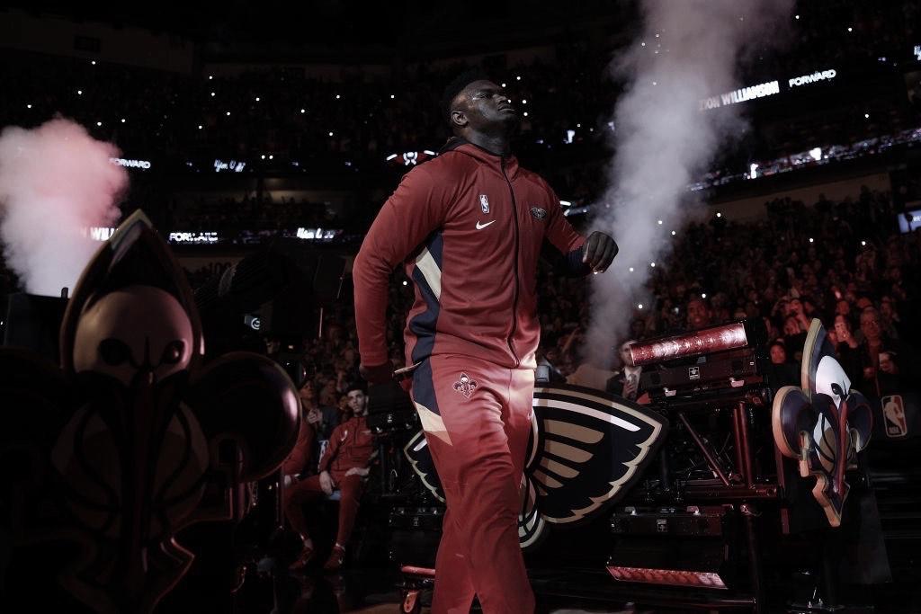 Williamson makes his long-awaited NBA debut