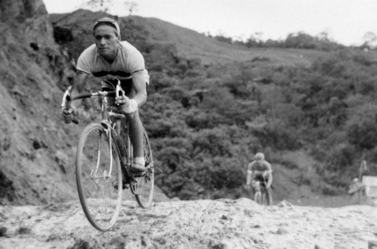 Efraín 'zipa' Forero, primer campeón de la Vuelta a Colombia | Foto: Archivo El Espectador