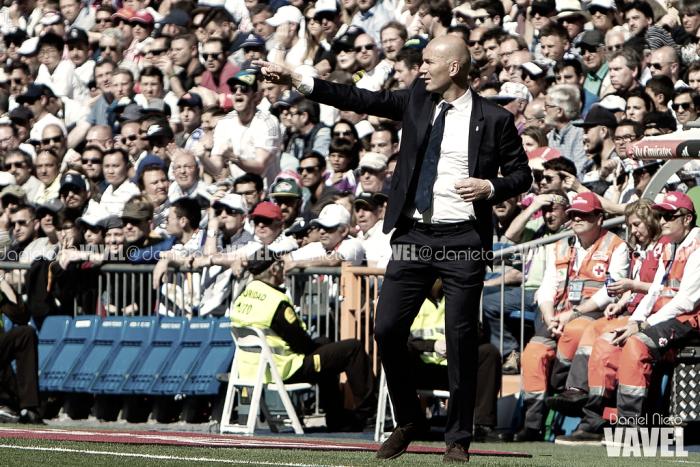 """Zidane: """"Queremos hacer el mejor partido posible y crecer físicamente"""""""