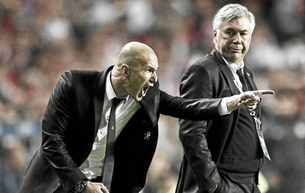 Real Madrid, allertato Zidane per la panchina