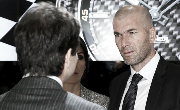 """F.Perez: """"Vogliamo Zidane come leader del nuovo progetto"""""""