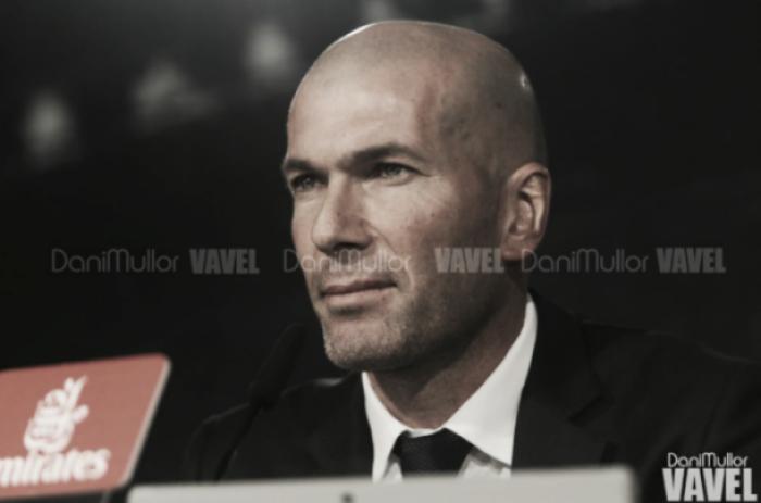 """Zidane: """"Hay que pensar en lo que viene ahora"""""""